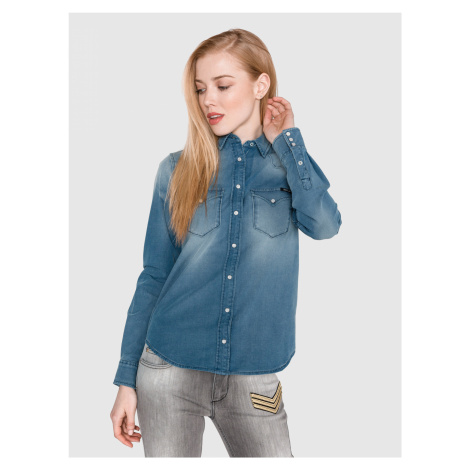 Košile Replay Modrá