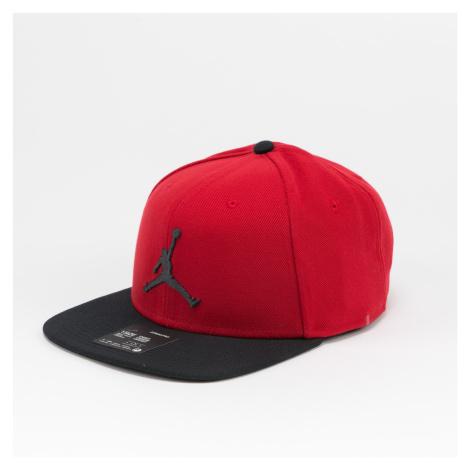 Jordan Pro Jumpman Snapback červená / černá