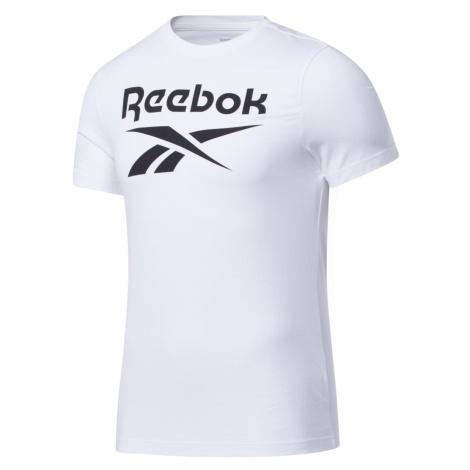 Tričko Reebok GRAPHIC SERIES Bílá / Černá