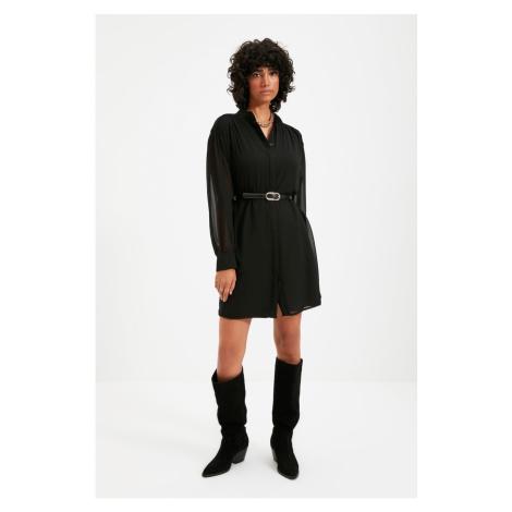 Trendyol Black Belted Dress