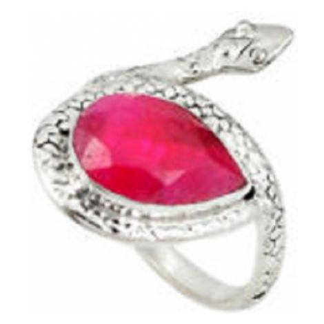 AutorskeSperky.com - Stříbrný prsten had - S2872
