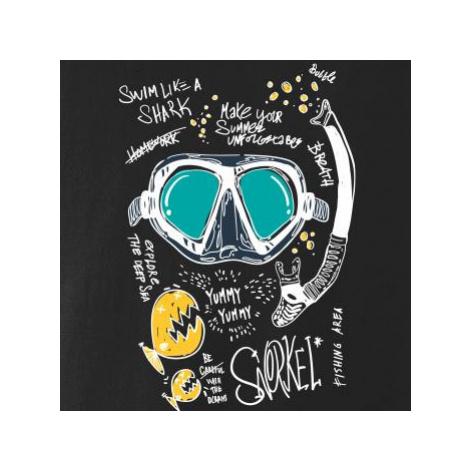 Potapěčské brýle text - Tílko pánské Core