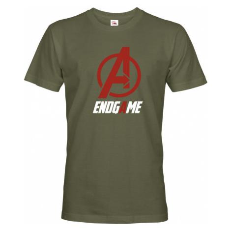 Pánské tričko s motivem Avengers EndGame - ideální pro fanoušky Marvel BezvaTriko