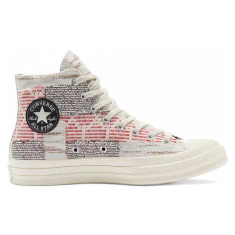 """Converse Chuck 70 Hi """"Patchwork"""" Artisanal Textiles Multicolor 170059C"""