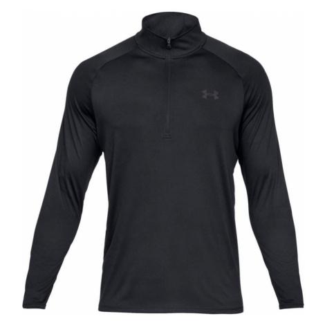Under Armour Tech 2.0 1/2 Zip Pánské triko dlouhý rukáv 1328495-001 Black