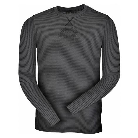 Pánské triko Alpine Pro PERKOS 3 - tmavě šedá