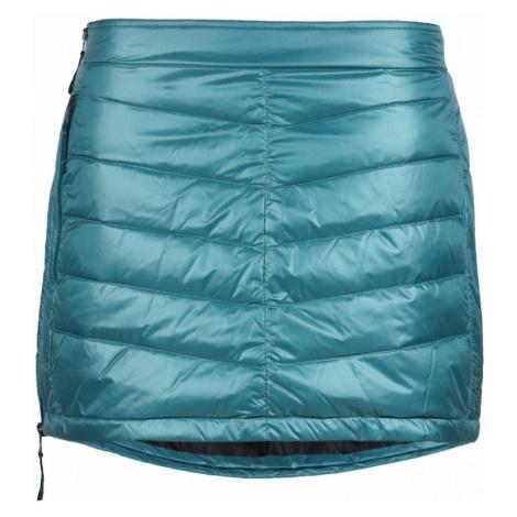 Péřová zimní sukně SKHOOP Mini Down blue surf