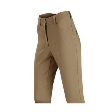 Dámské kalhoty dlouhé Litex 7A123   hnědošedá