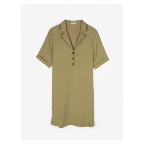 GATE Jednoduché košilové šaty