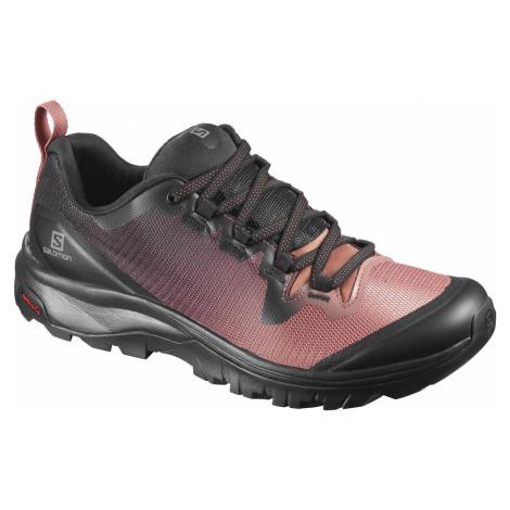 Treková obuv Salomon Vaya W - černá/růžová