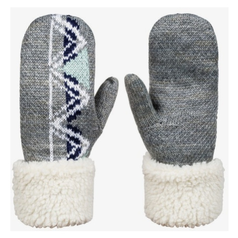 Rukavice Roxy Lizzie HydroSmart Mittens heather grey