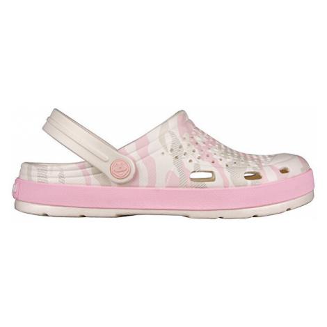 Coqui Dámské pantofle Lindo Pearl Camo 6413-203-3155