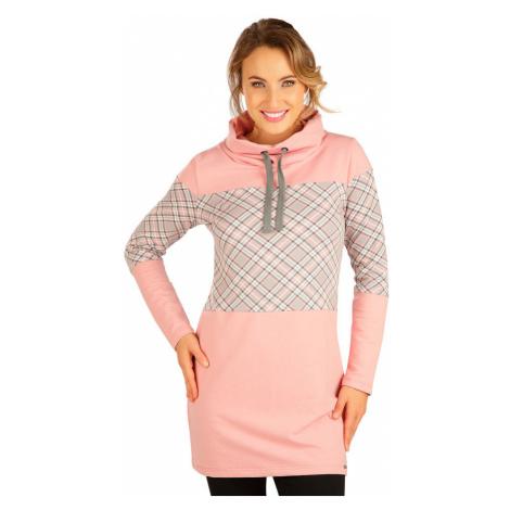 LITEX Mikinové šaty s dlouhým rukávem 5B212