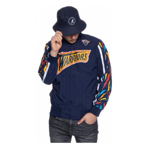 Mitchell & Ness jacket Golden State Warriors navy NBA Hook Shot Warm Up Jacket