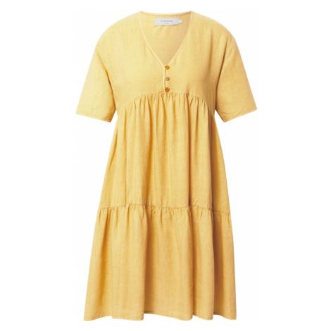 Thinking MU Maxi šaty 'FRESIA' hořčicová