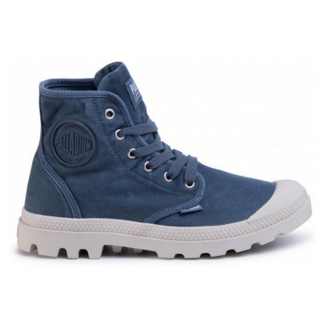 Palladium Boots US Pampa Hi Blue Denim modré 02352-448-M