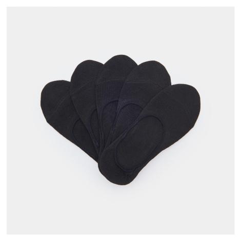 Sinsay - Sada 5 párů ponožek - Černý