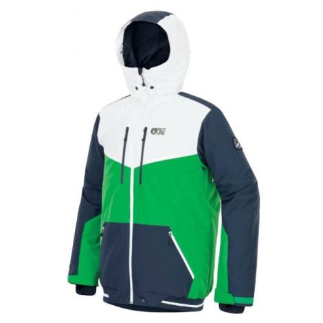 Picture PANEL zelená - Pánská zimní bunda