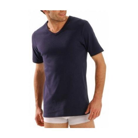 """Blancheporte Termo tričko s výstřihem do """"V"""", sada 2 ks nám.modrá"""