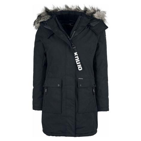 Khujo Athena Dívcí kabát černá