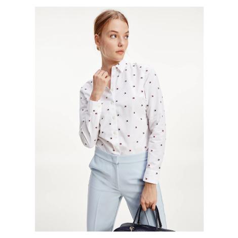 Tommy Hilfiger dámská bílá košile FELICIA