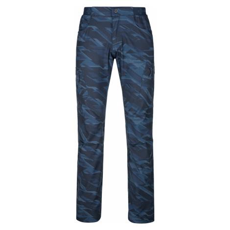 KILPI Pánské outdoorové kalhoty MIMICRI-M PM0026KIDBL Tmavě modrá
