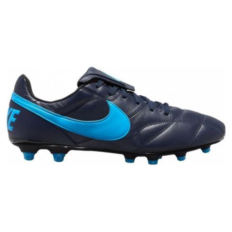 Kopačky Nike Premier II FG Tmavě modrá / Modrá