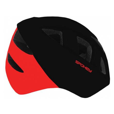 Spokey CHERUB Dětská cyklistická přilba IN-MOLD, 48-52 cm, černo-červená
