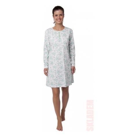 Dámská noční košile - CALVI 18-359, zelinkavá