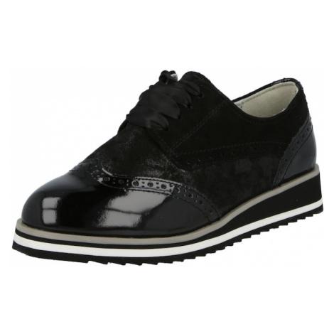 CAPRICE Šněrovací boty černá