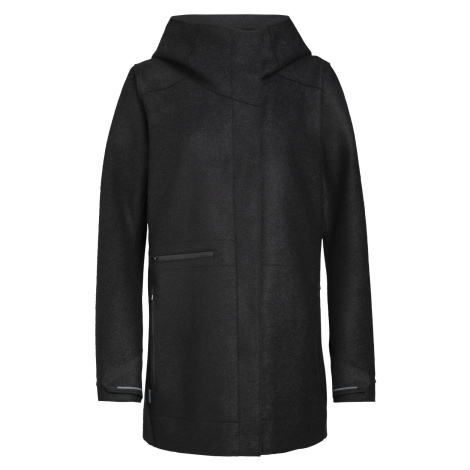 Dámské bunda ICEBREAKER Wmns Ainsworth Hooded Jacket, Black Icebreaker Merino