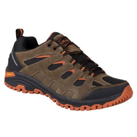 ALPINE PRO BABER hnědá 41 - Pánská outdoorová obuv