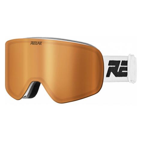 RELAX FEELIN Lyžařské brýle HTG49A bílá XL