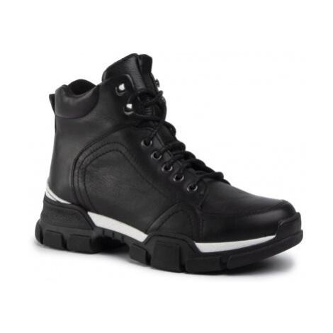Šněrovací obuv Lasocki RST-KUGA-03 Přírodní kůže (useň) - Lícová