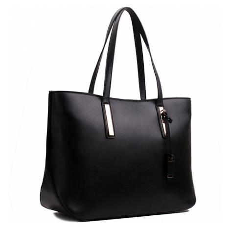 Černá luxusní moderní dámská kabelka Linda Lulu Bags