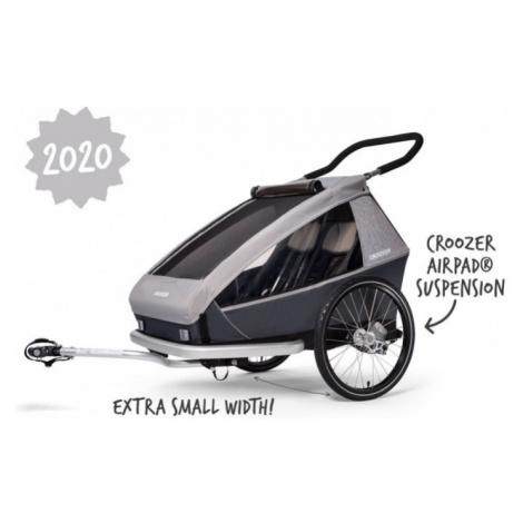 Dětský sportovní vozík Croozer Kid for 2 Keeke stone grey