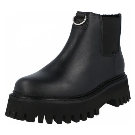 BRONX Chelsea boty černá