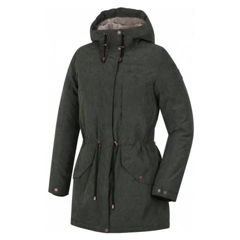 HANNAH ESMAIL Dámský zimní kabát 10000166HHX01 Thyme