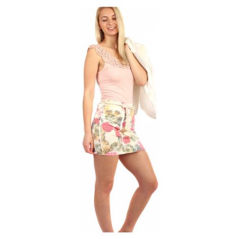 Dámská společenská krátká pouzdrová sukně