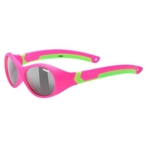 Dětské sluneční brýle Uvex Sportstyle 510 Barva obrouček: růžová