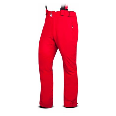 Pánské lyžařské kalhoty TRIMM Narrow red