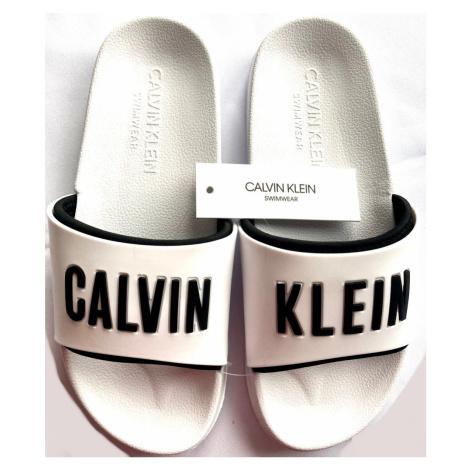 Dámské nazováky Calvin Klein KW01372 bílé | bílá