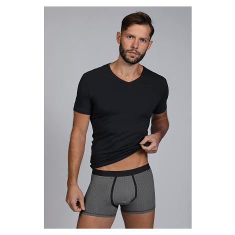Pánský SET tričko a boxerky Dandy černá Cotonella