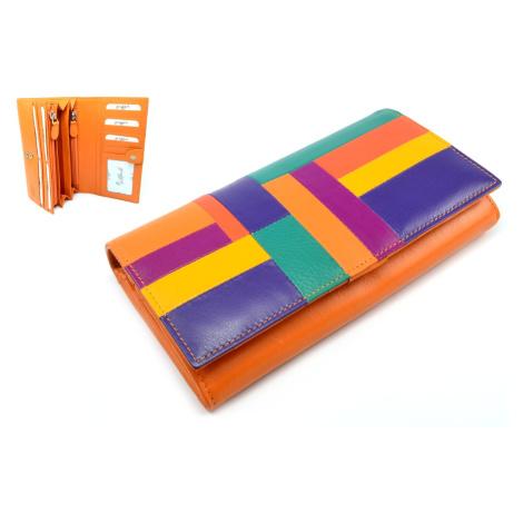 Luxusní peněženka dámská kožená Golunski