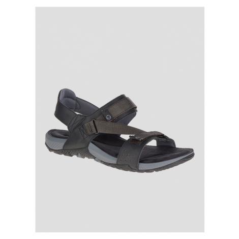 Terrant Strap Outdoor sandále Merrell Černá