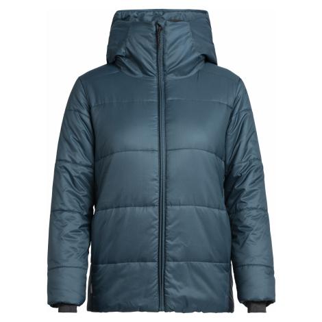Dámská bunda ICEBREAKER Wmns Collingwood Hooded Jacket, NIGHTFALL Icebreaker Merino