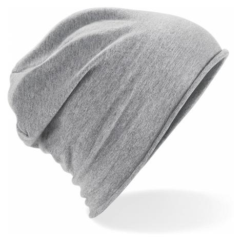 Stylová Jersey čepice - šedá Beechfield