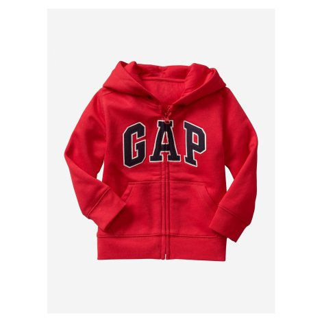 Mikina dětská GAP Červená