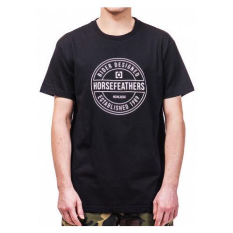 Tričko Horsefeathers Hallmark black
