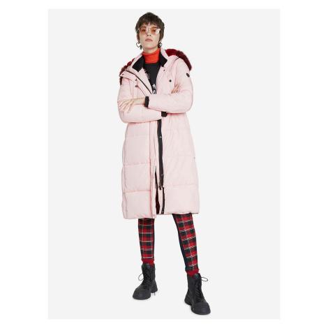 Sveta Kabát Desigual Růžová